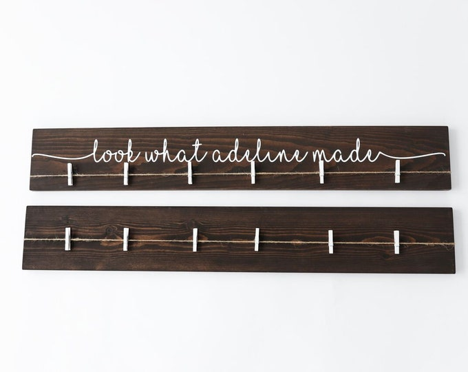 Look What I Made Sign | 36"