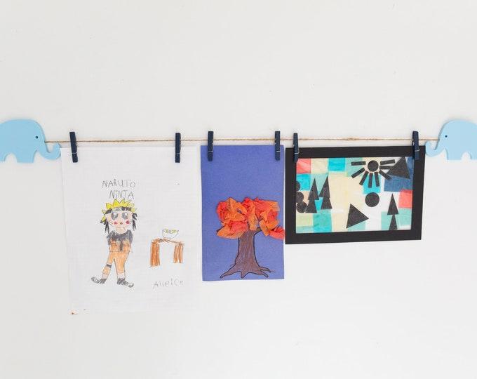 Kids Art Display Sign | Elephant Images