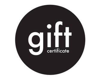 Gift Certificates | FREE SHIPPING