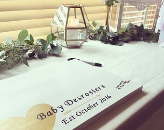 Wedding Guestbook Wood Sign