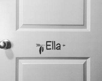 Name Decals | FREE SHIPPING