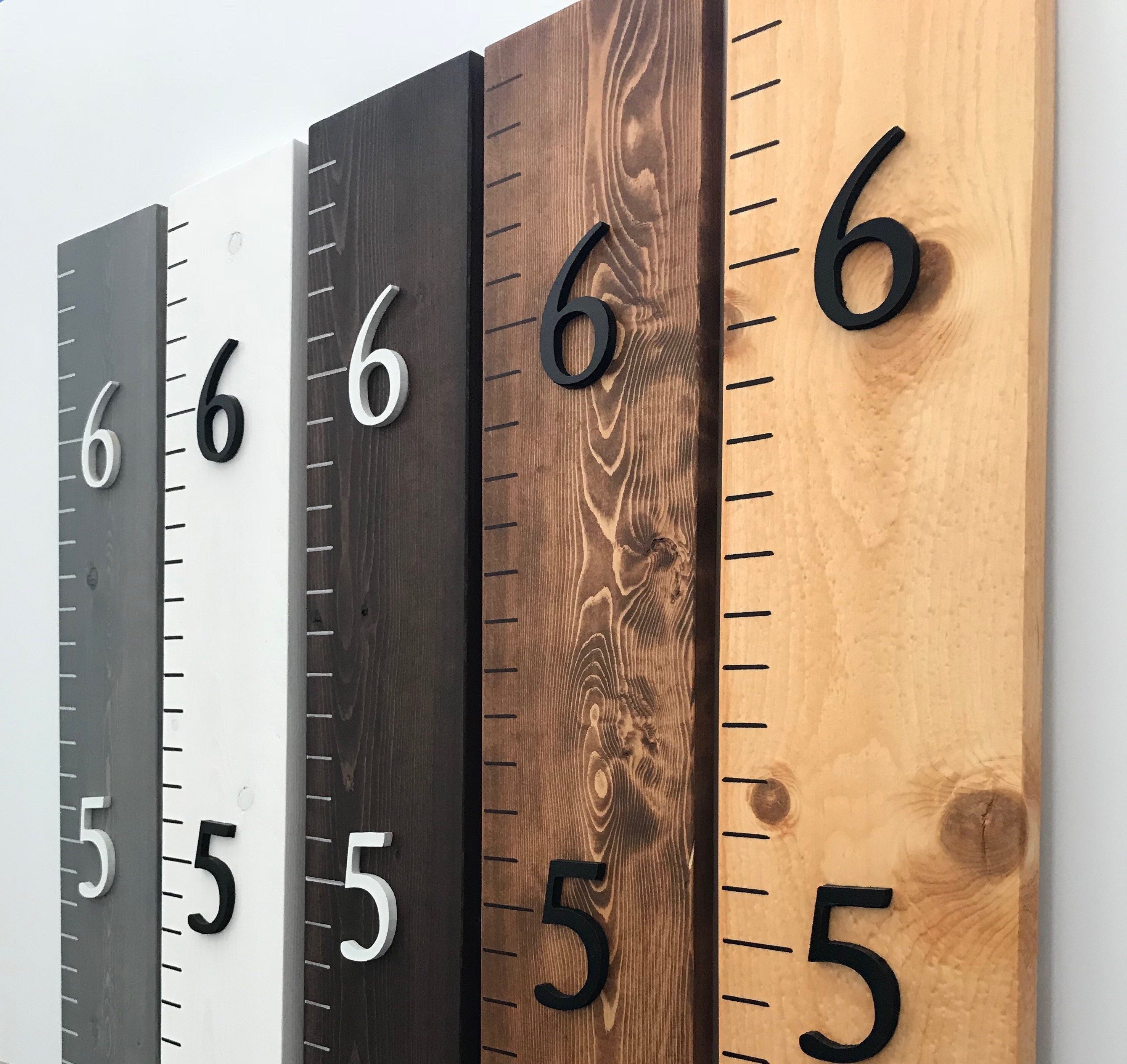 Upgrade To 3d Numbers Add On To Standard Growth Chart