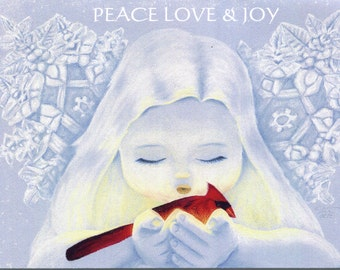 Holiday Greeting Card Pack featuring Winter Jewel
