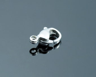 Stainless Steel Lobster Claw Clasps, 10x6x3mm
