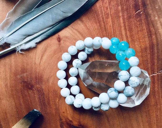 Featured listing image: Heart Chakra Attunement Mala Bracelet