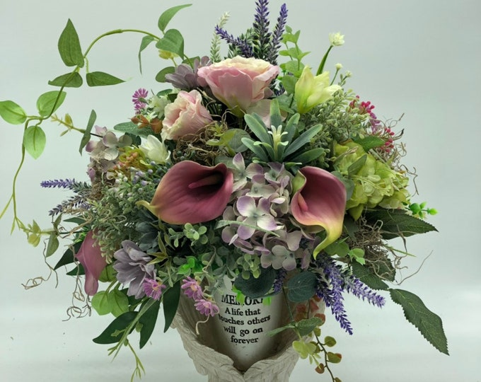 custom arrangement without vase