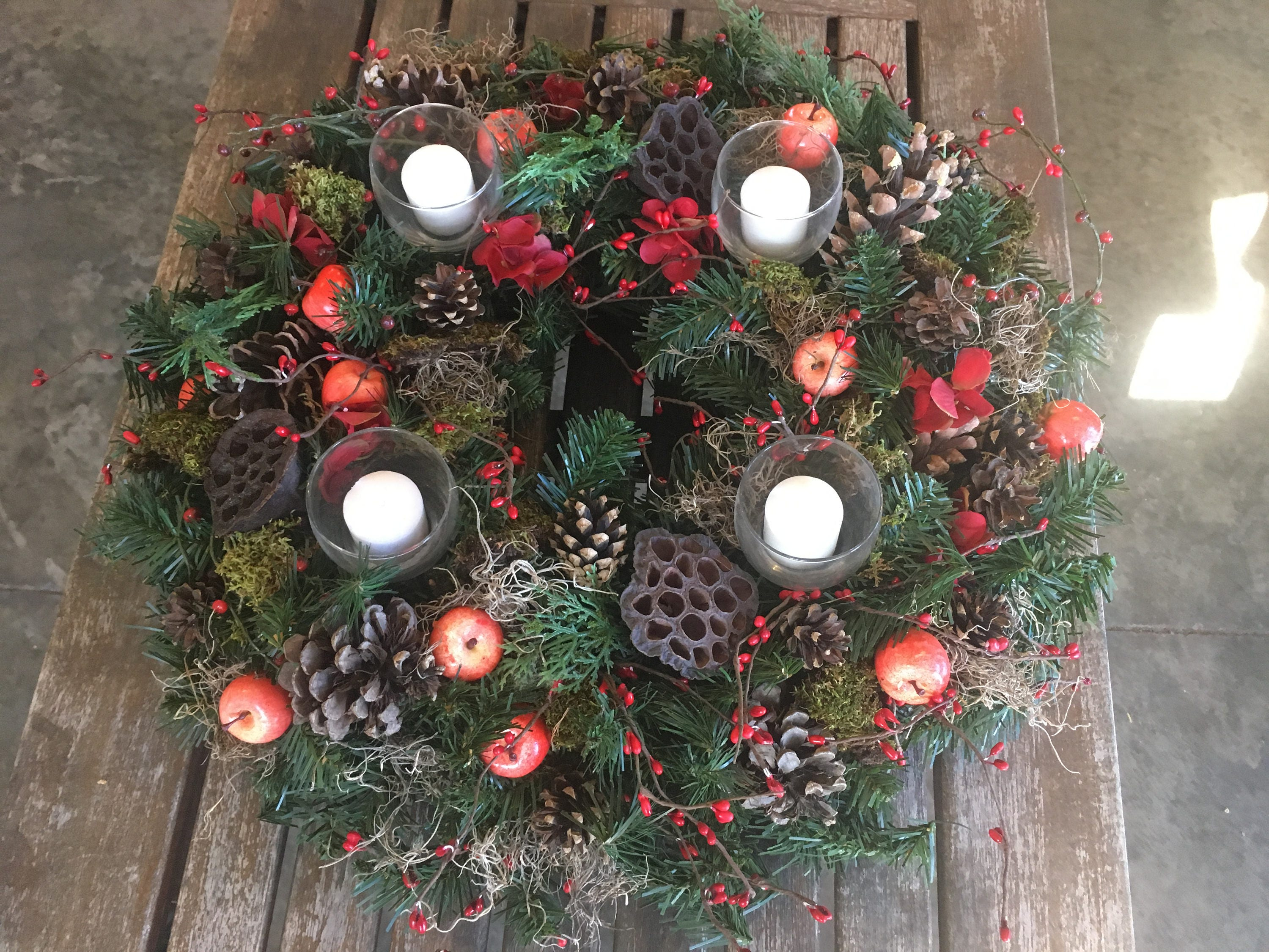 shipping - Large Christmas Wreaths
