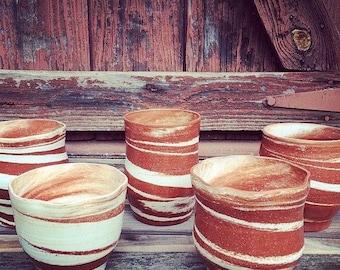 Georgia Clay Swirl Vase