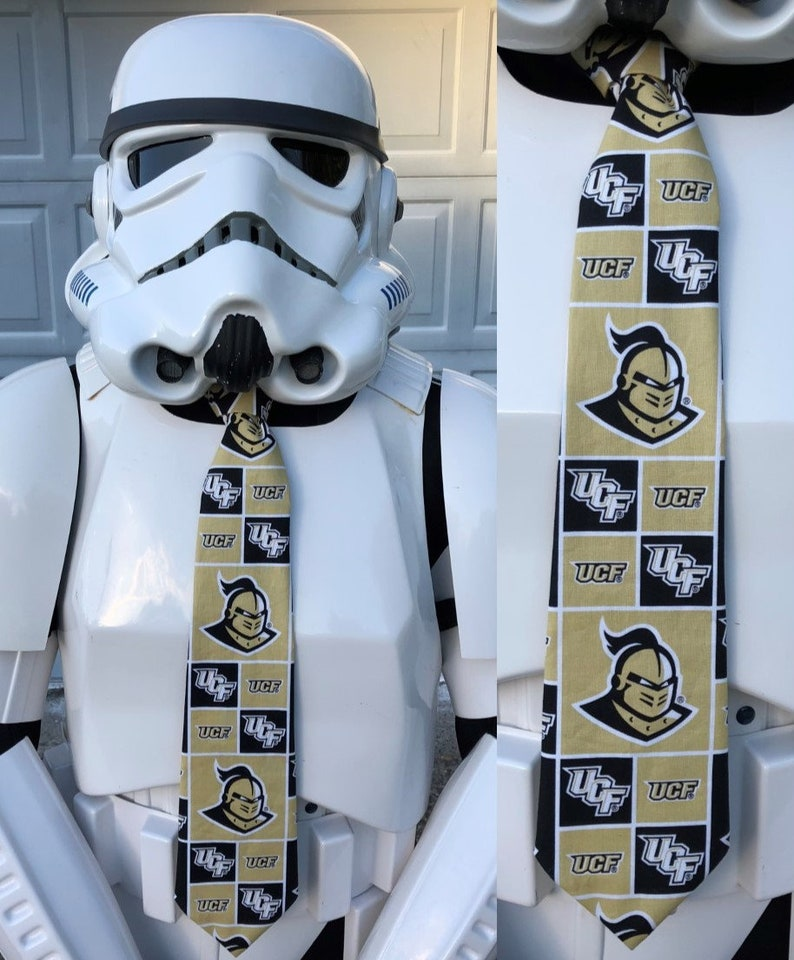University of Central Florida Novelty Necktie UCF Knightro Pegasus Knights Neck Tie FREE SHIPPING