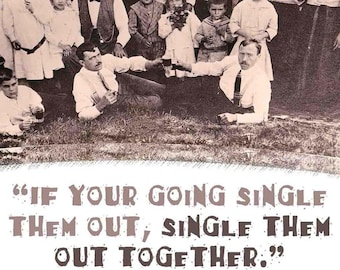 Single them out together? Fun old pictures with funny quotes. Classic old family photography.