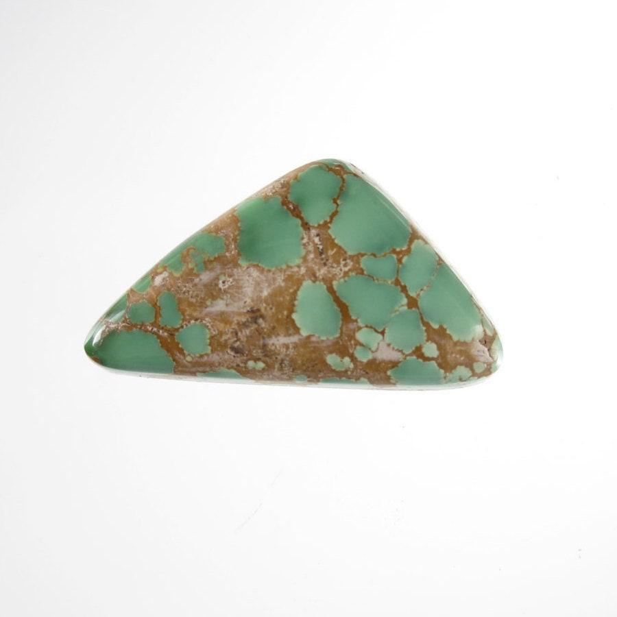 Naturel sauterelle américaine Faustite Turquoise gemme non traité Cabochon pierre gemme Turquoise 16.35 carats 30 mm x 16 mm (environ) 353af2