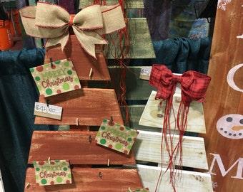 Tree Card Holder Etsy