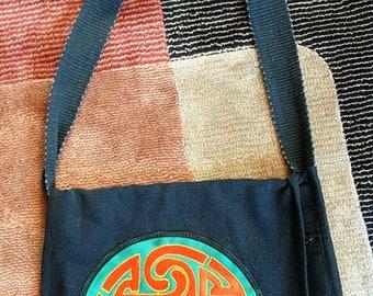 Celtic Shoulder Bag with Fringe