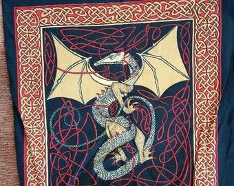 Celtic Dragon Expandable Shopping Bag