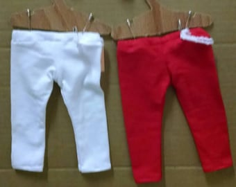 18 inch doll Leggings for the American Girl or 18 inch doll friends. Various colors to choose from.  If I don't have it listed ask.