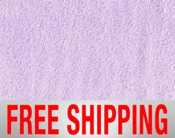 Lavender Sheer Lilac Purple Blizzard Anti-Pill Fleece