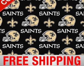 c6fb34a0cf6b67 New Orleans Saints NFL Cotton Fabric - 60
