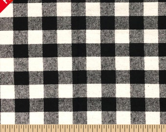 7d089c22702af Buffalo Plaid Yarn Dyed Flannel Fabric - 58