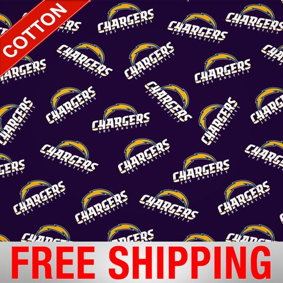 9d3da838 Los Angeles Chargers NFL Cotton Fabric - 60