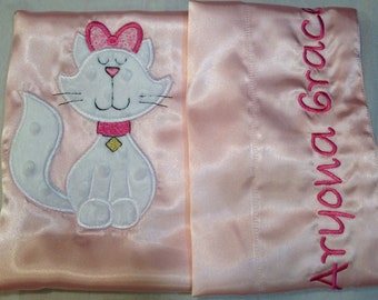 Pretty Kitty Pink Pillow Case