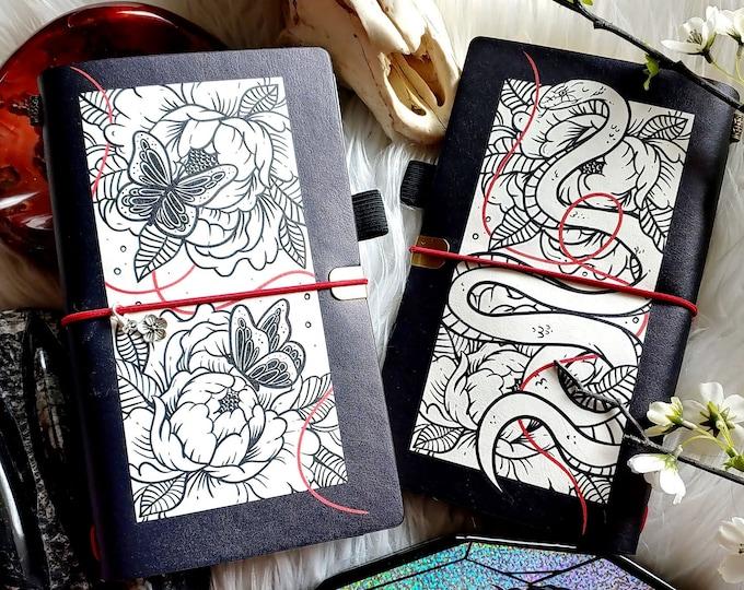 Traveler's Notebook : Butterflies and Snakes