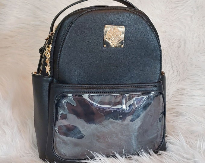 Casual Ita Backpack - Midnight Black