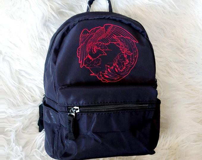 Mini Polyester Backpack - Phoenix