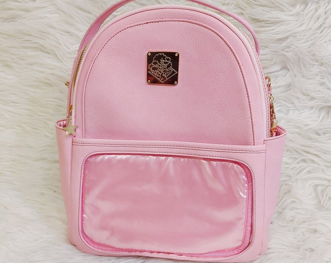 Casual Ita Backpack - Bright Pink
