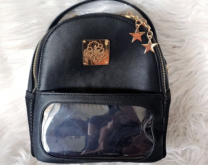 Mini Casual Ita Backpack - Midnight Black