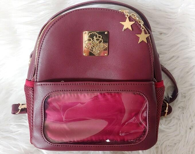 Mini Casual Ita Backpack - Burgundy