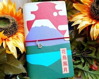 Traveler's Notebook : Mt.Fuji Japan