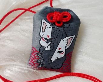 Kitsune Mask Omamori Charm
