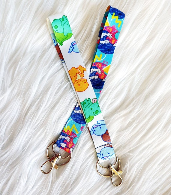 Wrist Strap Lanyards with Hook and Key Ring