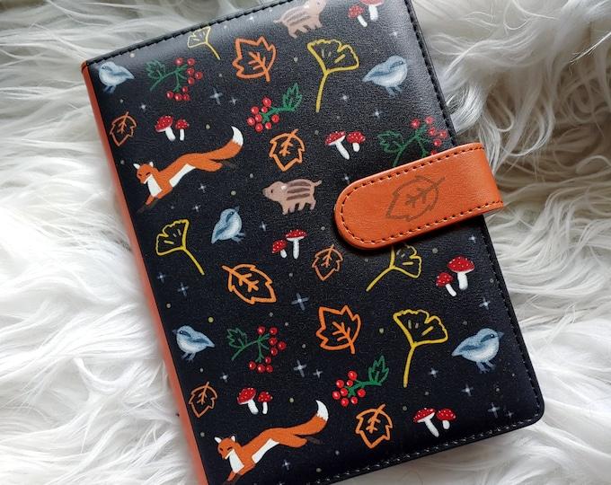 B6 Dot Grid Notebook - Friendly Forest
