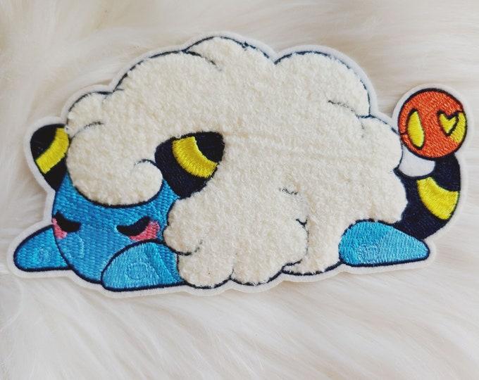 Sleepy Sheep Iron-on Patch