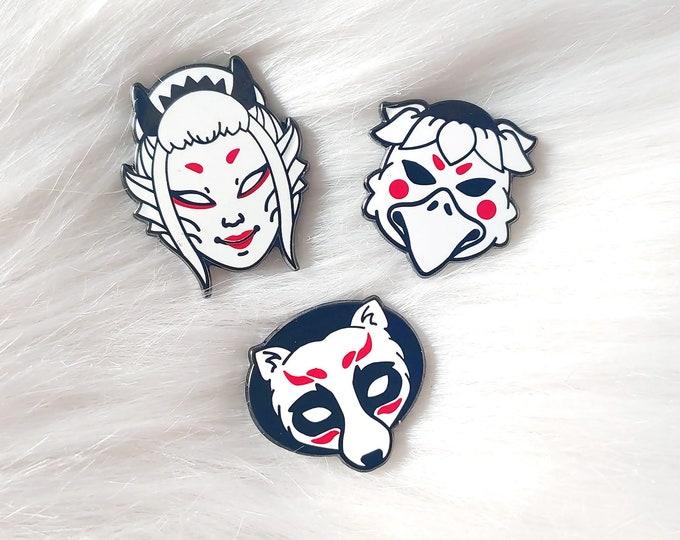 Japan Inspired Masks Set of Three Volume 5