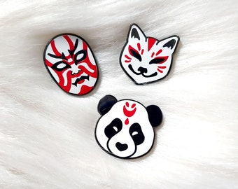 Japan Inspired Masks Set of Three Volume 3