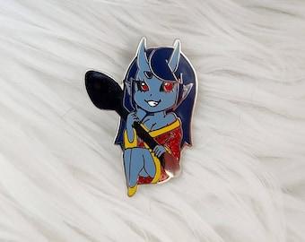 Oni Girls Enamel Pins - Dark Glitter Spoon