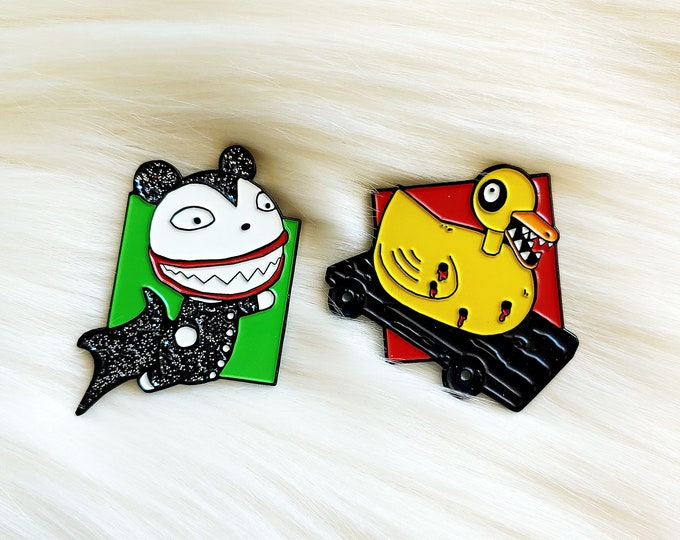 Nightmare Toys Pin Set