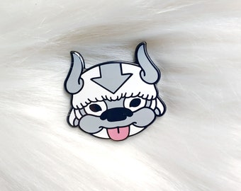 Japan Inspired Sky Bison Small Enamel Pin