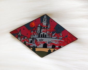 Calamity Castle Video Game Inspired Enamel Pin