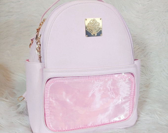 Casual Ita Backpack - Baby Pink