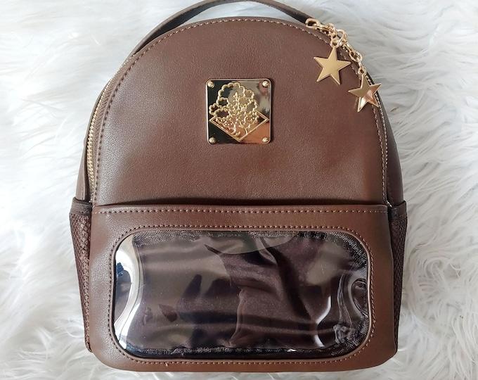 Mini Casual Ita Backpack - Dark Brown