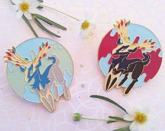Magical Color Changing Fairy Deer *Imperfect pin deal*