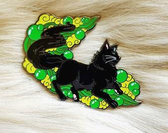Black Cat Enamel Pin