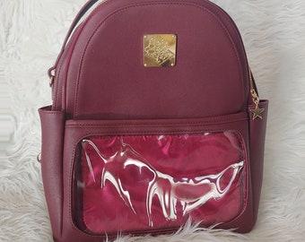 Casual Ita Backpack - Burgundy