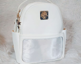 Casual Ita Backpack - Pure White