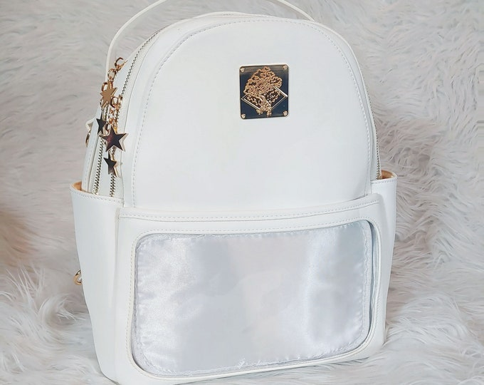 Casual Ita Backpack - Pure White