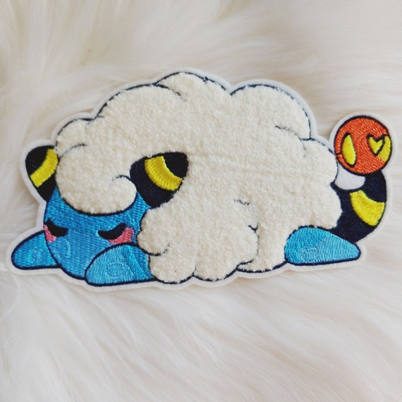 Sleepy Sheep Iron-on Patch