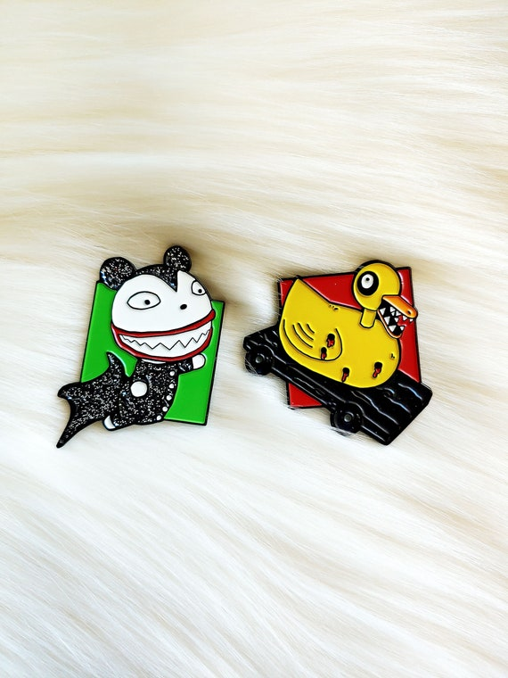 Nightmare Toys Pin Set